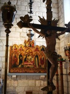 Blaž Jurjev Trogiranin, oltarna pala, crkva Svih Svetih